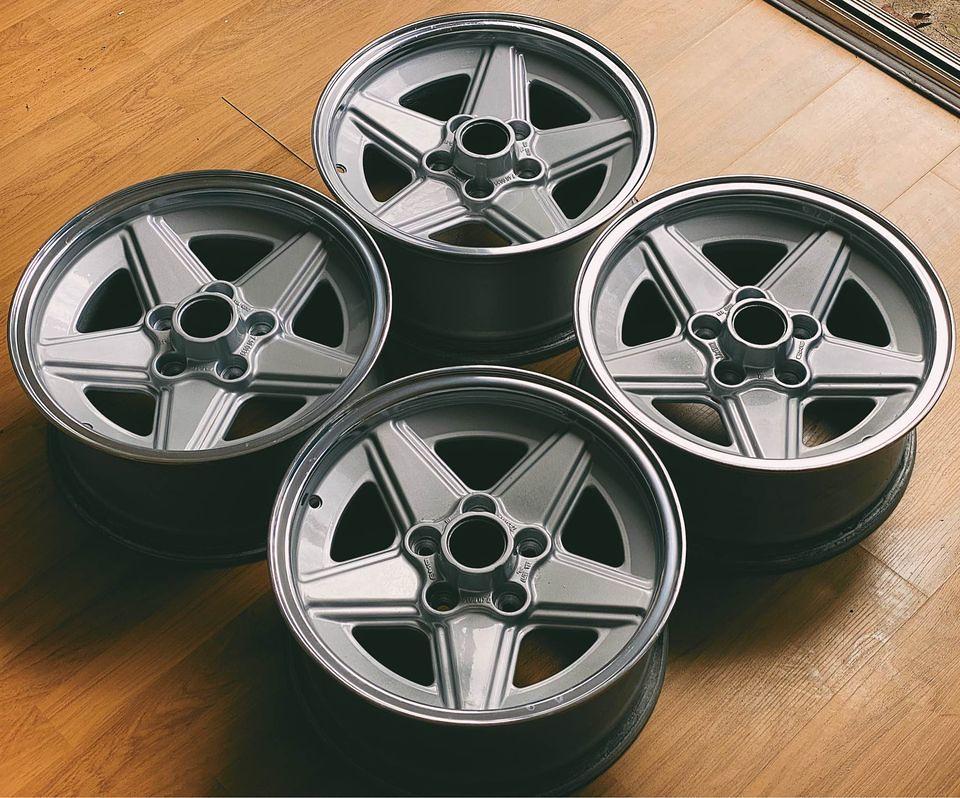 """15"""" AMG 'Penta' wheels for my 450SLC"""