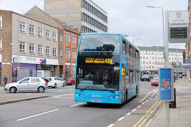 Arriva YJ08 EEN, Leicester