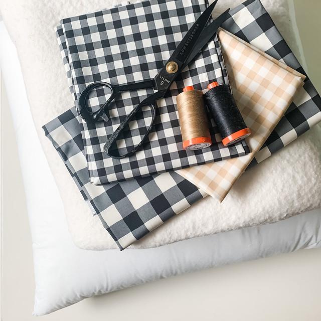 Whole Cloth Pillow Supplies