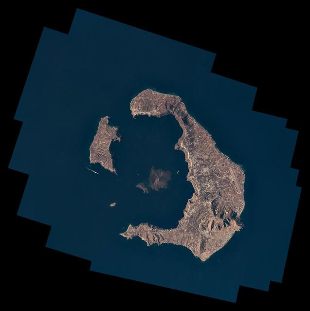 Santorini stitched