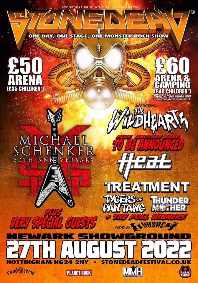 Stonedead Announce Michael Schenker Group and More For 2022