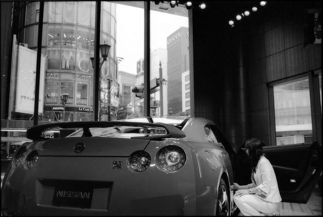 Nissan GTR @Ginza Gallery