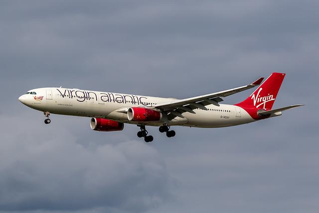 Virgin Atlantic A333 G-VSXY Sep21