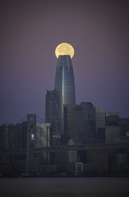 Full Salesforce Moonset