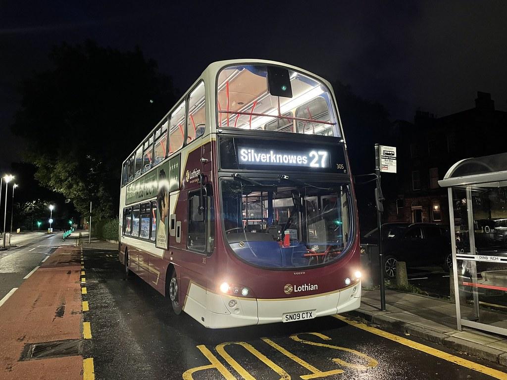 305 - SN09 CTX - Lothian Buses