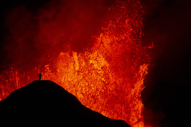 Eruption at Mount Fagradalsfjall