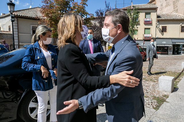 Reunión con la vicepresidenta tercera y alcaldes y alcaldesas de los municipios afectados por la Dana