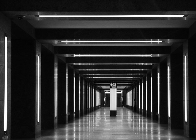 - U-Bahn Museuminsel Berlin -
