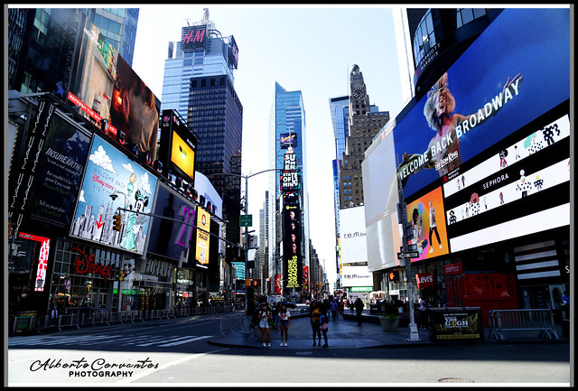 WELCOME BACK BROADWAY. NEW YORK CITY.