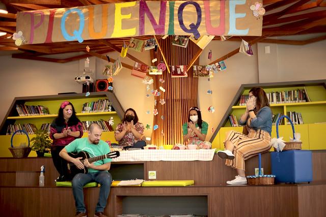 Bastidores live diversificado EI - Mostra Pedagógica 2º trimestre