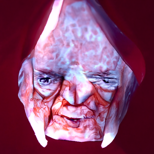 'computer rendering of Emporer Palpatine made of cheese by Evan Charlton' CLIP Guided Diffusion v5 Text-to-Image