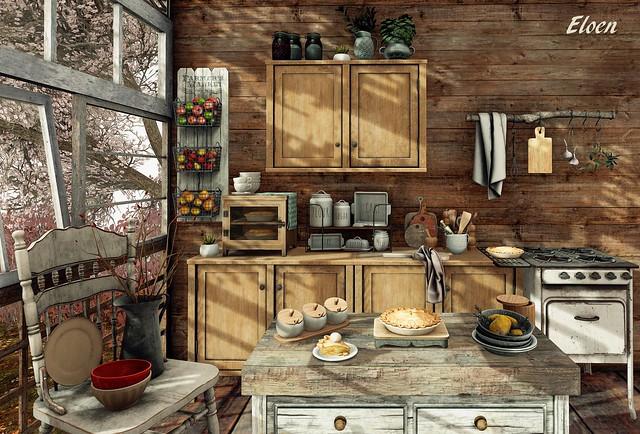 Pitorestic Kitchen