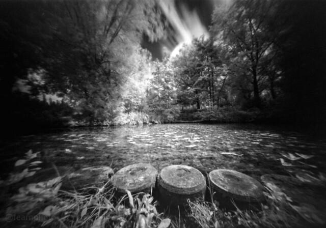Wilton Park in Infrared