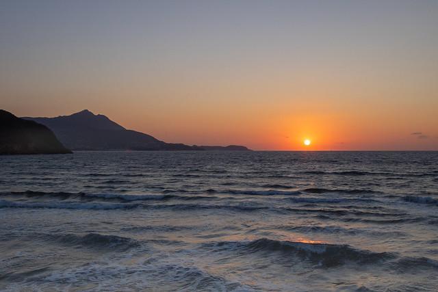 Procida - Tramonto sul mare - sunset on the sea
