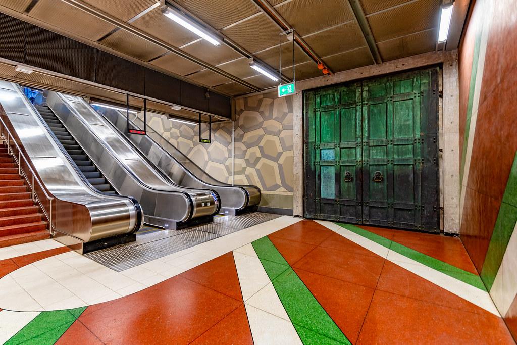 Stockholm Tunnelbana 2021
