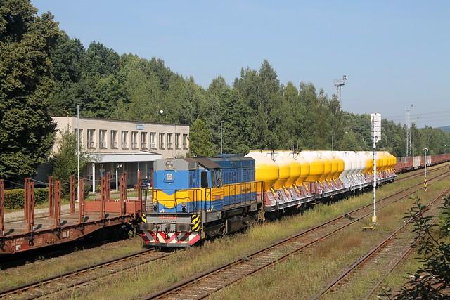 Diamo 740 708-3 in Brniště op 8-9-2021