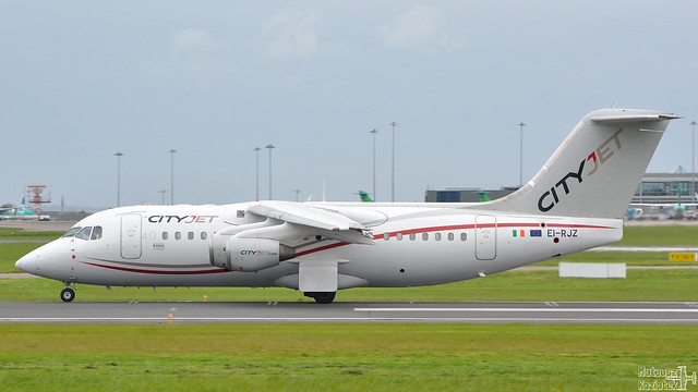 CityJet 🇮🇪 British Aerospace Avro RJ85 EI-RJZ