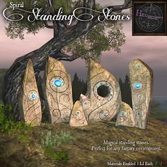 HEXtraordinary__Spiral_Standing_Stones_Poster