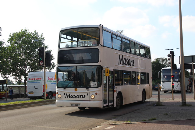 Masons DAF DB250 (TransBus ALX400) LG52 DBV