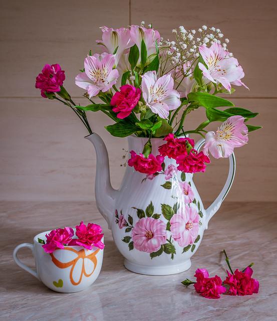 Flower brew