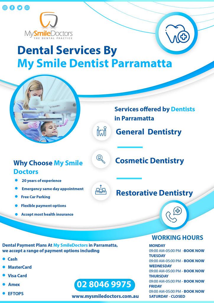 Dentist Parramatta | Painfree Dentistry Parramatta | My Smile Doctors