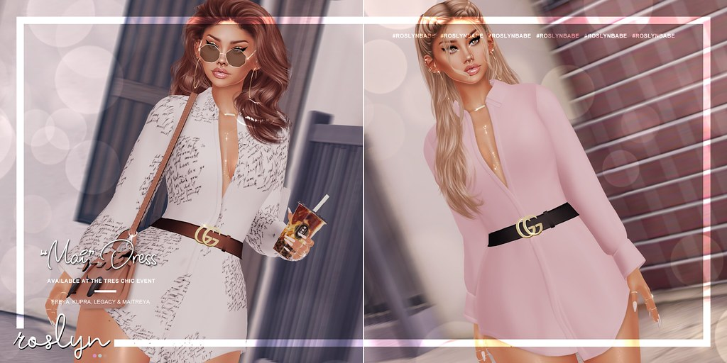 """roslyn. """"Mai"""" Dress @ Tres Chic // GIVEAWAY"""