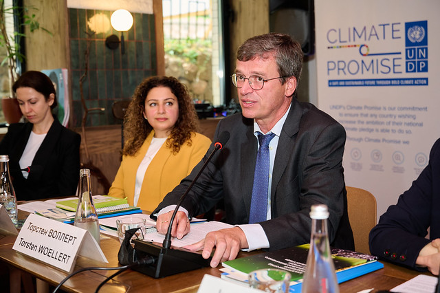 Media meet with UNDP to discuss Ukraine's climate strategy