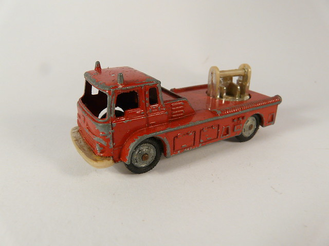 Mettoy Co. – Husky Models №36-A/1 → SIMON SNORKEL FIRE ENGINE 79mm Gt. Britain 1967-1969