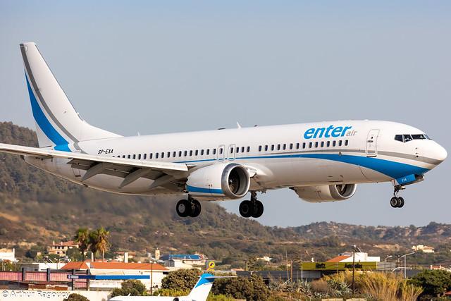 Enter Air Boeing 737 MAX 8 SP-EXA (RHO)