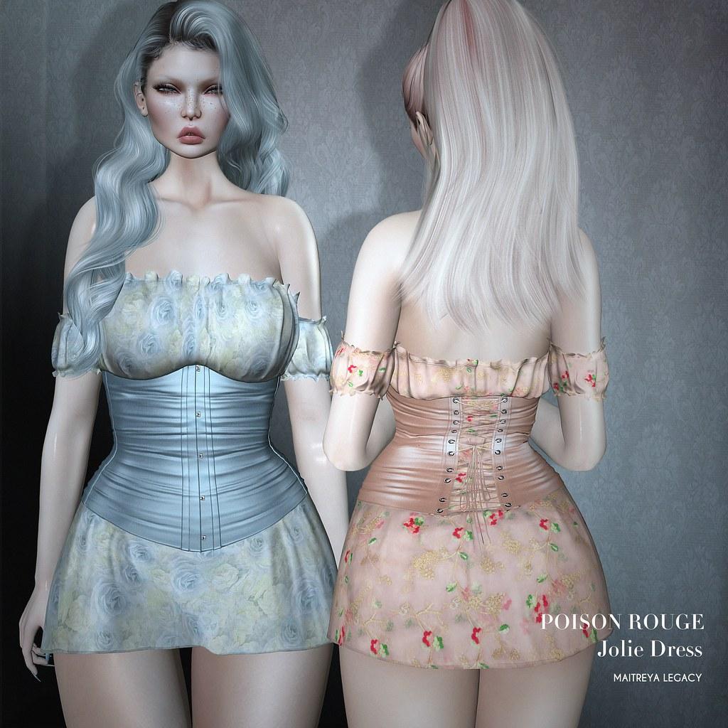 POISON ROUGE Jolie Dress @TRES CHIC