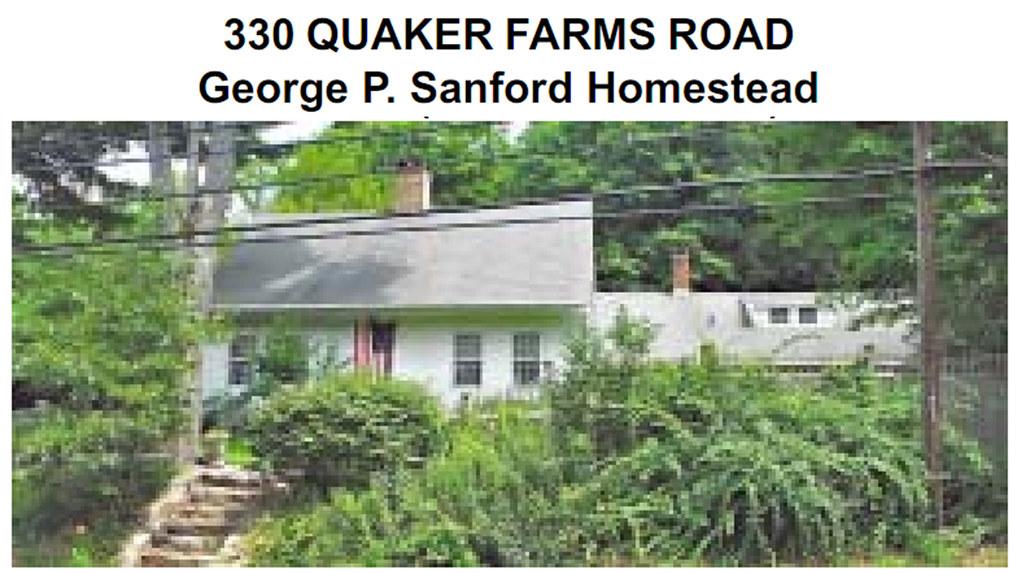 Quaker Farms Road_330_George P Sanford