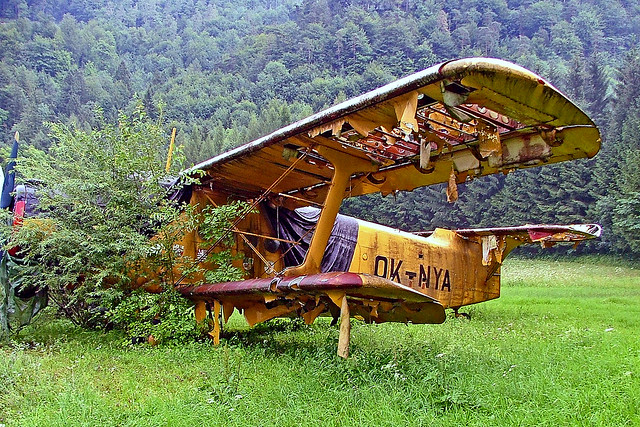 OK-NYA   Antonov An-2 [113947302] (Museum Fahrzeug-Technik-Luftfahrt) Bad Ischl Museum~OE 15/07/2009