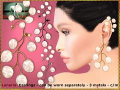 Bliensen - Lunaria - Earrings