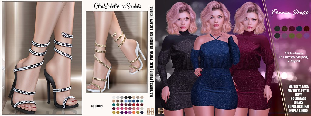 Hilly Haalan – NEW Clea Sandals and Fannie Dress