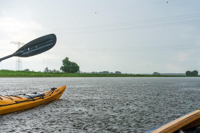 Kayaking on the Elbe XI