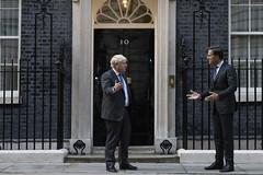 Prime Minister Boris Johnson meets Dutch PM Mark Rutte