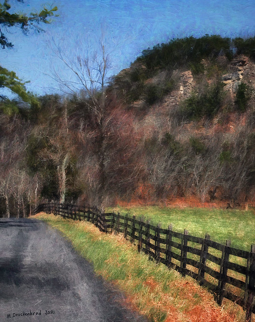 Howards Lick Road west of Lost River State Park, Hardy Co. WV