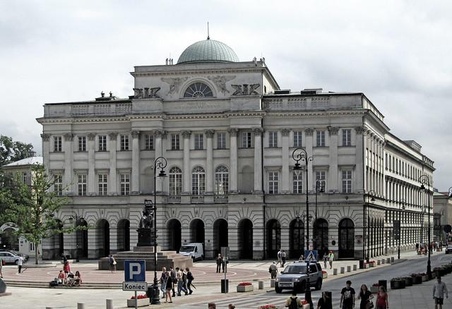 Warszawa - Pałac Staszica
