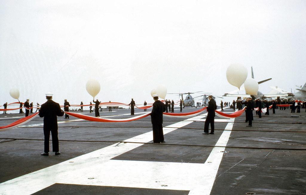 Vietnam War 1965 - USS CORAL SEA (CVA-43)