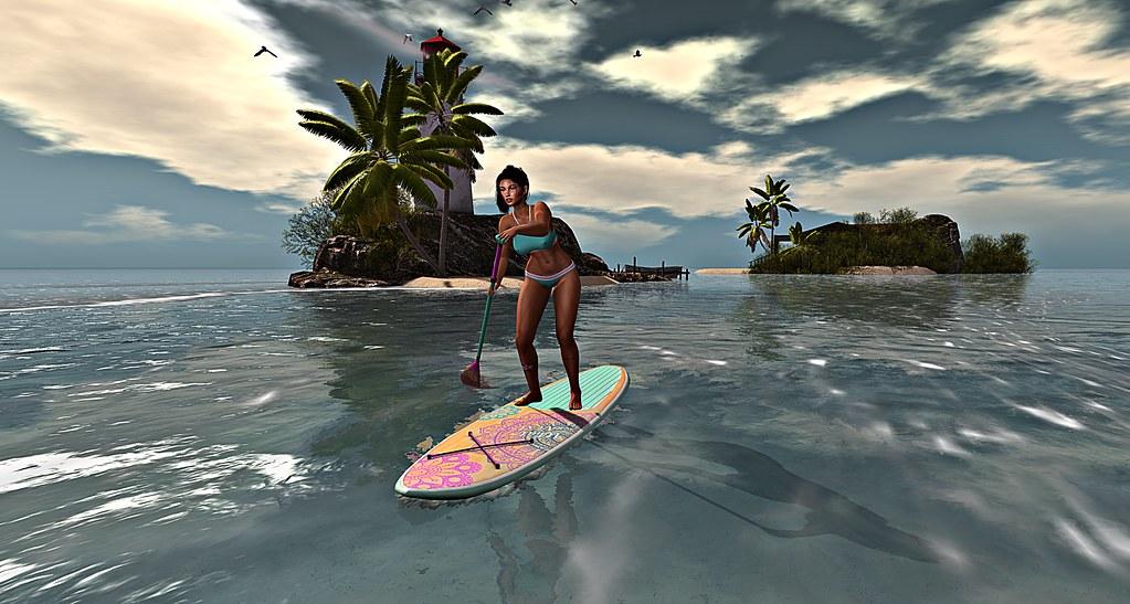 Paddleboarding at Archipelago