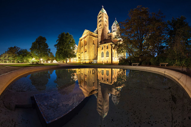 the Speyer Cathedral in a completely new view