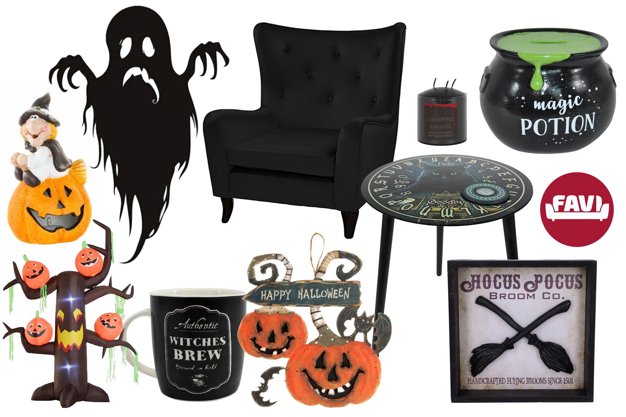 decoratiuni halloween favi