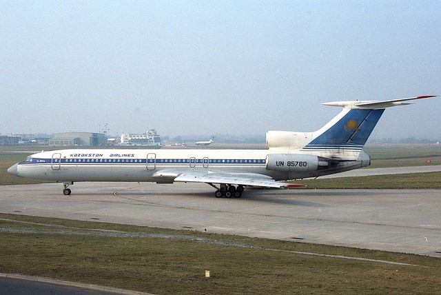 Tupolev Tu-154M UN-85780 Kazakhstan Airways