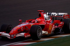2006 F1 Japanese GP Michael Schumacher Ferrari 248 F1