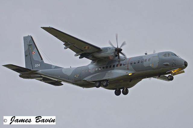 024 CASA 296-M  Polish Air Force