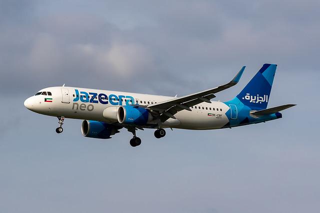Jazeera A32N 9K-CBF Sep21