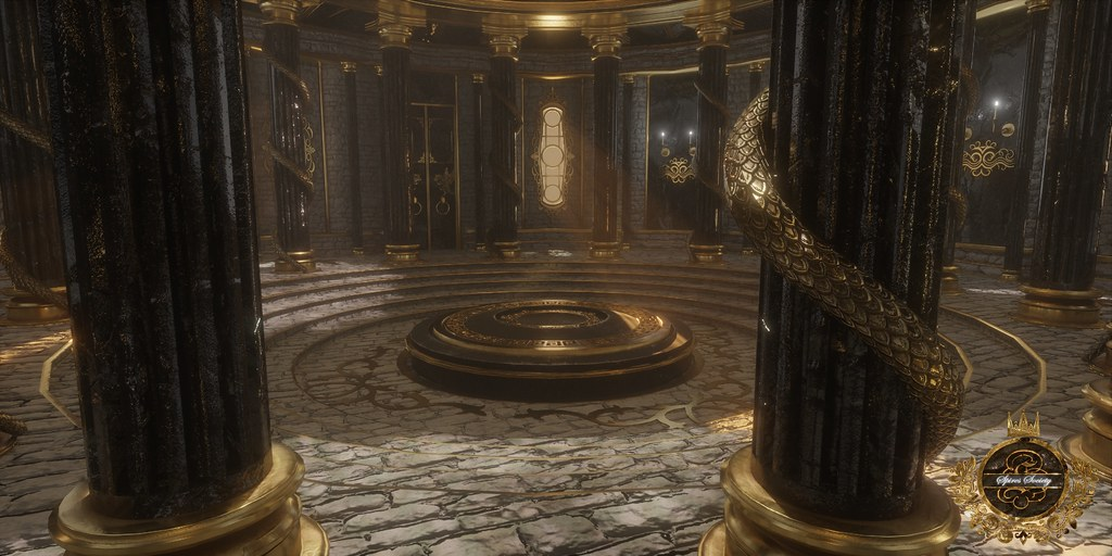Spires Society – Chamber of The Wicked (Final Render)