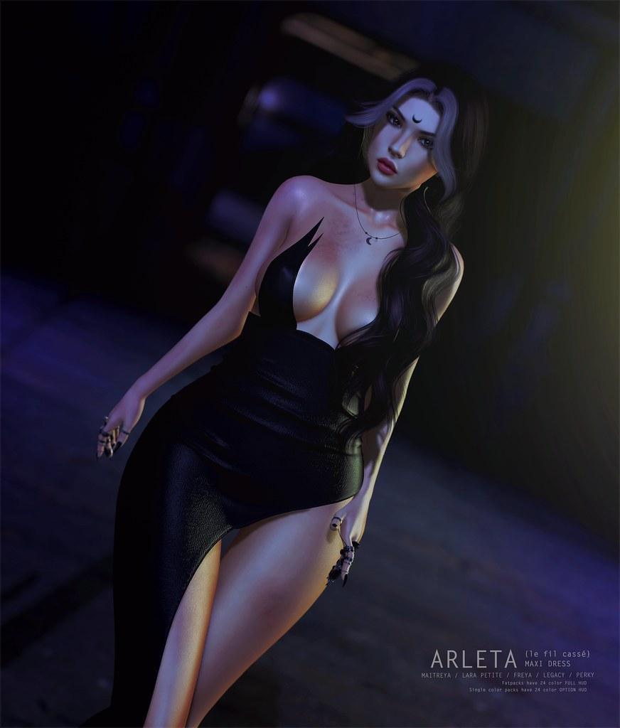 {le fil cassé} Arleta Dress for Solstice