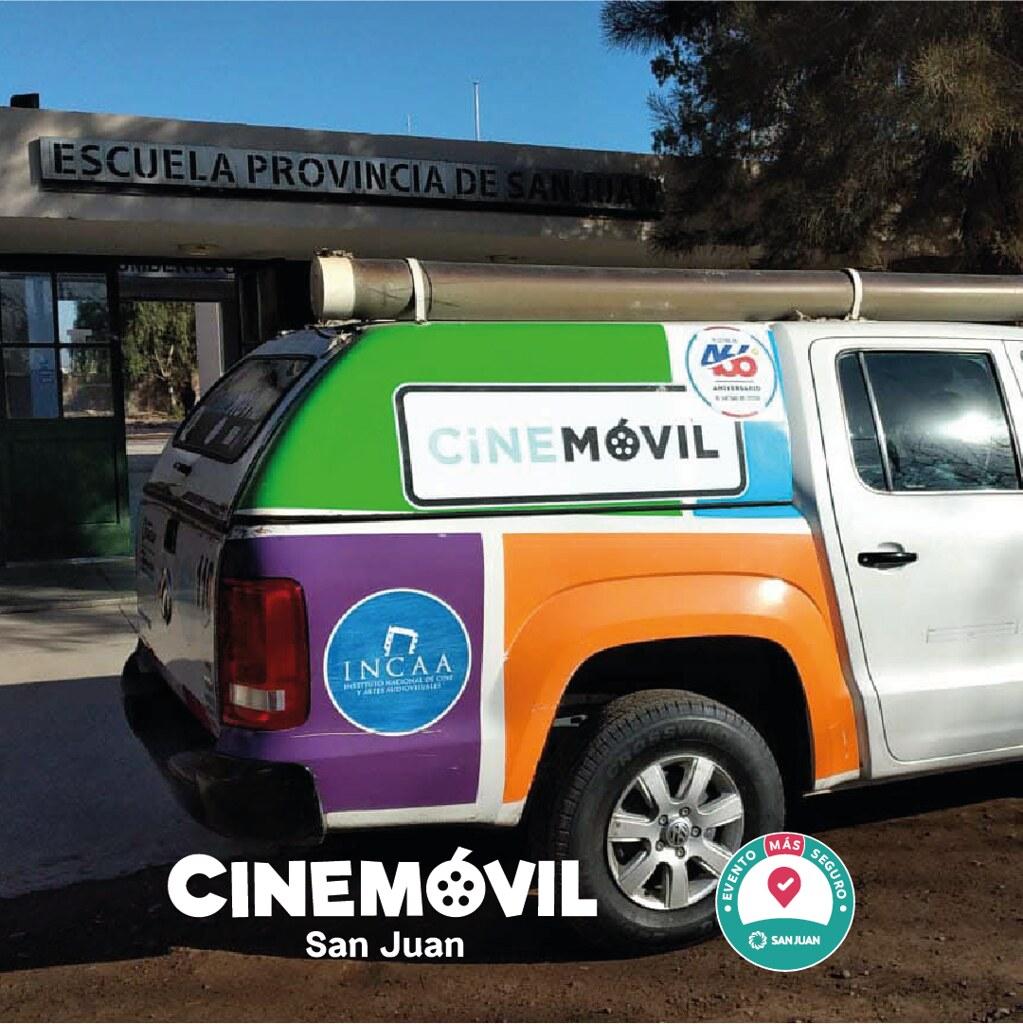 El Cine Móvil regresó con mucho entretenimiento a los departamentos