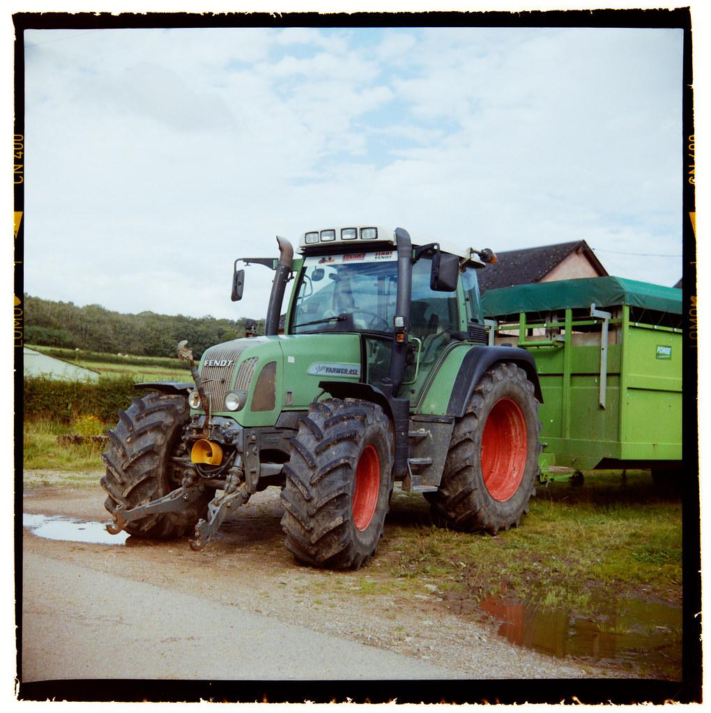 C'est mon tracteur préféré